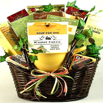 Fireside Pick-Me-Up Soup Basket