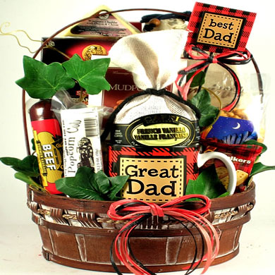 A Great Dad!, Gift Basket for Dad