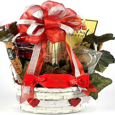 Date Night, Romantic Gift Basket