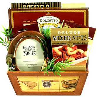 Hook, Line, and Sinker, Fishing Gift Basket