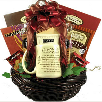 Footprints In The Sand, Gift Basket