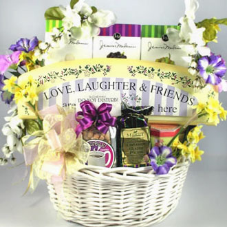 For A Very Special Lady Gift Basket