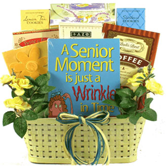 A Senior Moment, Gift Basket For Seniors