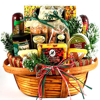 Holidays at Home Gift Basket