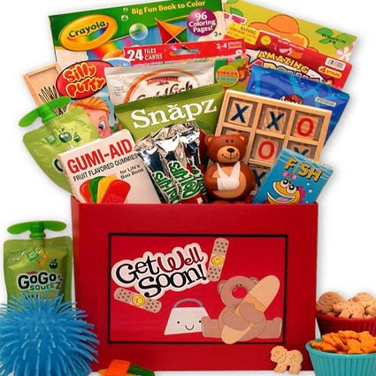 get well gift box for kids
