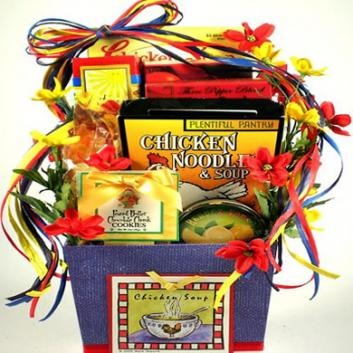 Soups On, Get Well Gift Basket