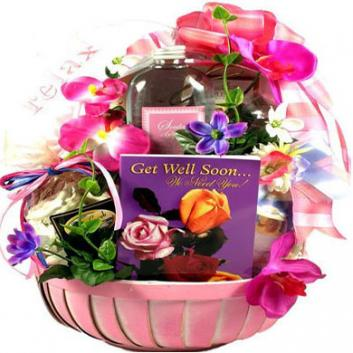 Get Well Comfort Gift For Her