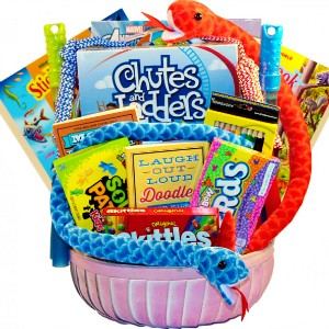kids activity gift basket