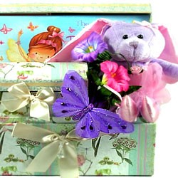 LIttle Girls Ballerina Gift Basket