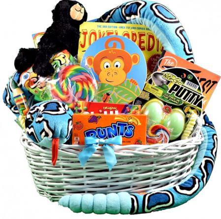 go wild kids gift basket
