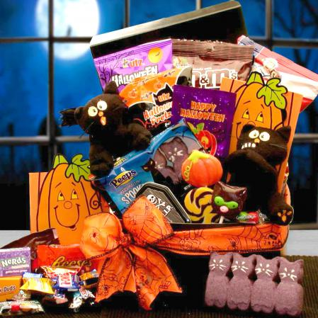Halloween Scaredy Cat Gift Box