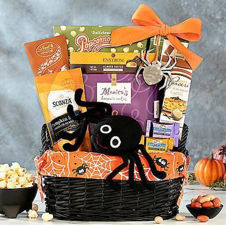 halloween spider gift box