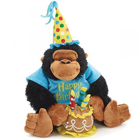 Birthday Monkey Business