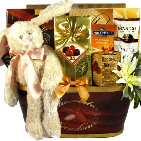 Hippity Hop Easter Bunny Basket