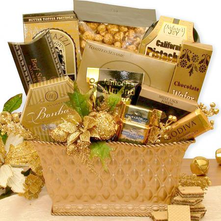 holiday-gold-gift-baskets