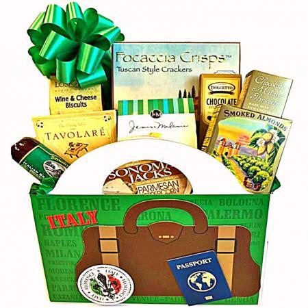 Italian Inspired Gourmet Gift Basket