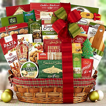 Holiday Delights Gift Basket