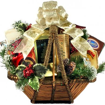 Large Holiday Splendor Basket