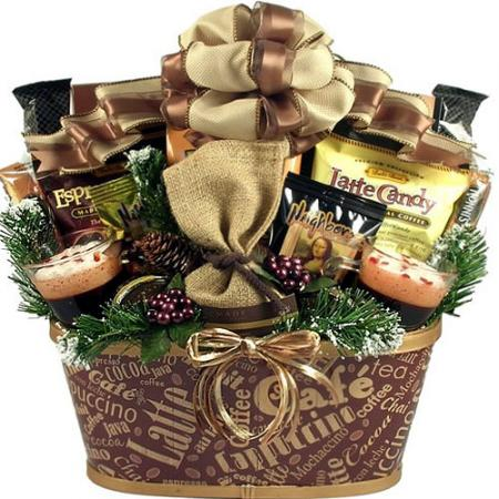 Deluxe Coffee Lover's Gift Basket