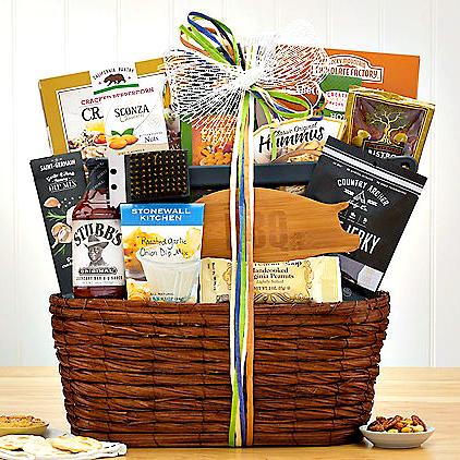 BBQ grill master gift basket