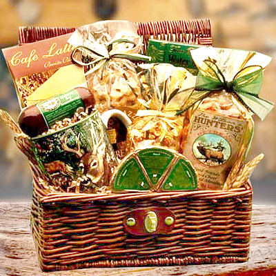 hunting gift basket