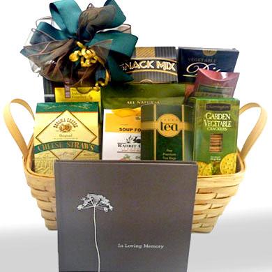 Loving Memories Sympathy Gift Basket