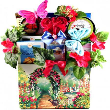 garden gift basket for her