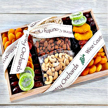 Gourmet Dried Fruit and Nut Collection