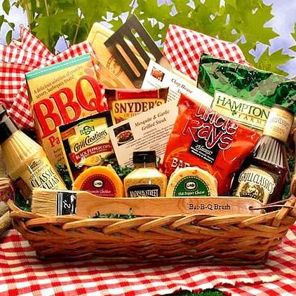 Barbeque Grilling Gift Basket