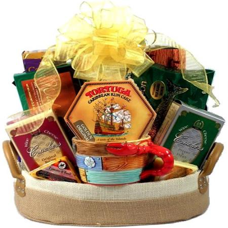 Island Breeze, Tropical Gift Basket