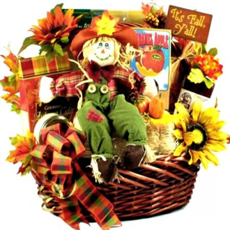Cutest Fall Gift Basket For Thanksgiving & Fall Events