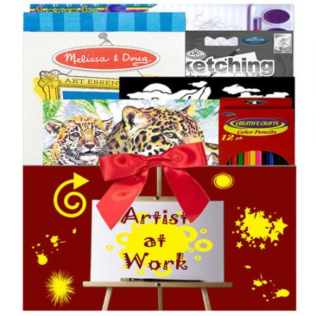 Creative Artist Gift Box for Kids