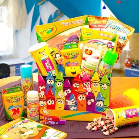 Happy Kids Crayola Activity Gift Box
