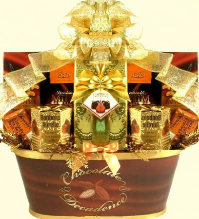 Large Chocolate Gift Baskets