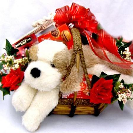Large Romantic Gift Basket