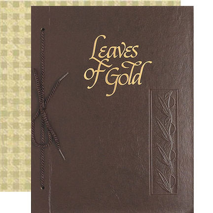 Leaves of Gold Deluxe Book