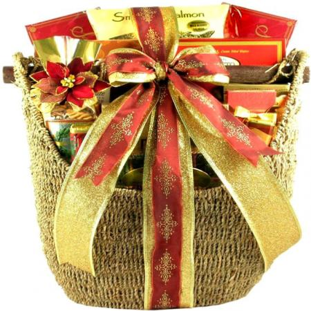 Oversized Holiday Gift Basket