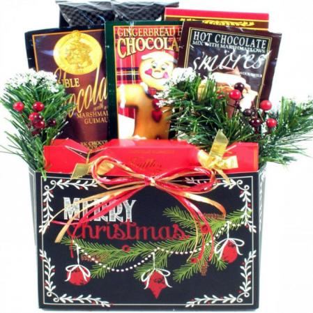 Merry Christmas To All Gift Box