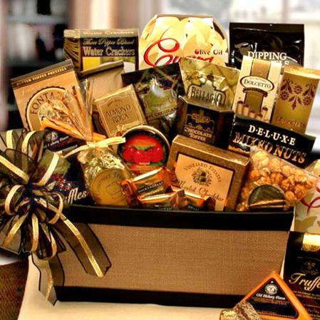 The Savory Gourmet Gift Basket