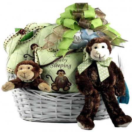monkey business baby basket
