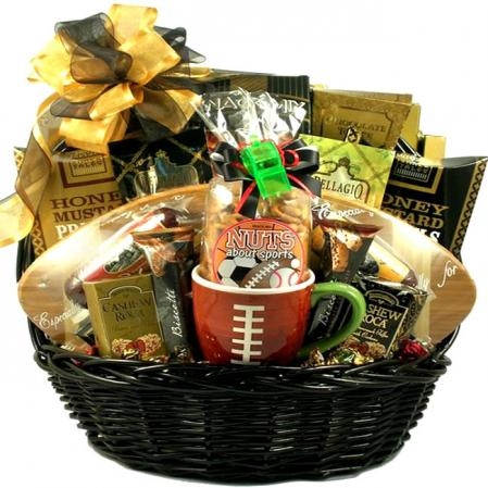Deluxe Football Season Gift Basket