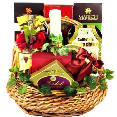 Napa Valley Gourmet Gift Basket