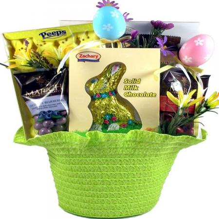 New Easter Celebration Gift Basket