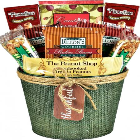 Nuts For Fall - A Fall Gift Basket They'll Love