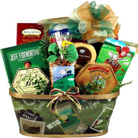 A Round of Golf, Gift Basket for Golfers