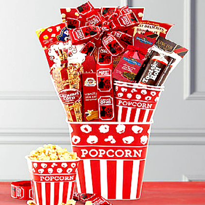 Great Popcorn & Candy Gift Box For All Ages