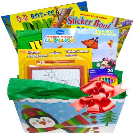Kids Holiday Activities Gift Box