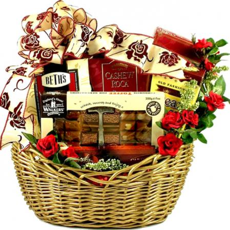 Gourmet Gift Basket for Women