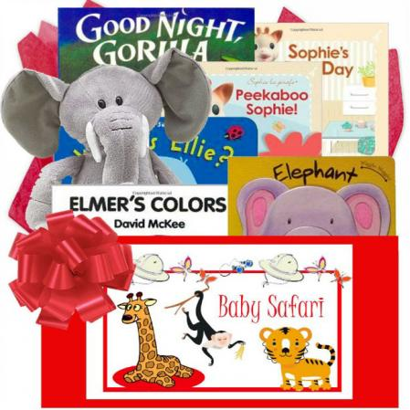 Safari Baby Themed Gift Box