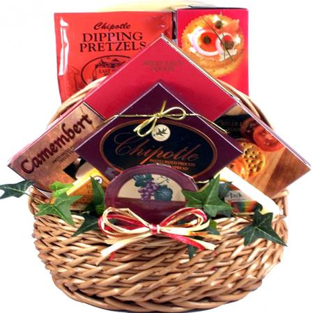 Holiday Meat and Cheese Basket